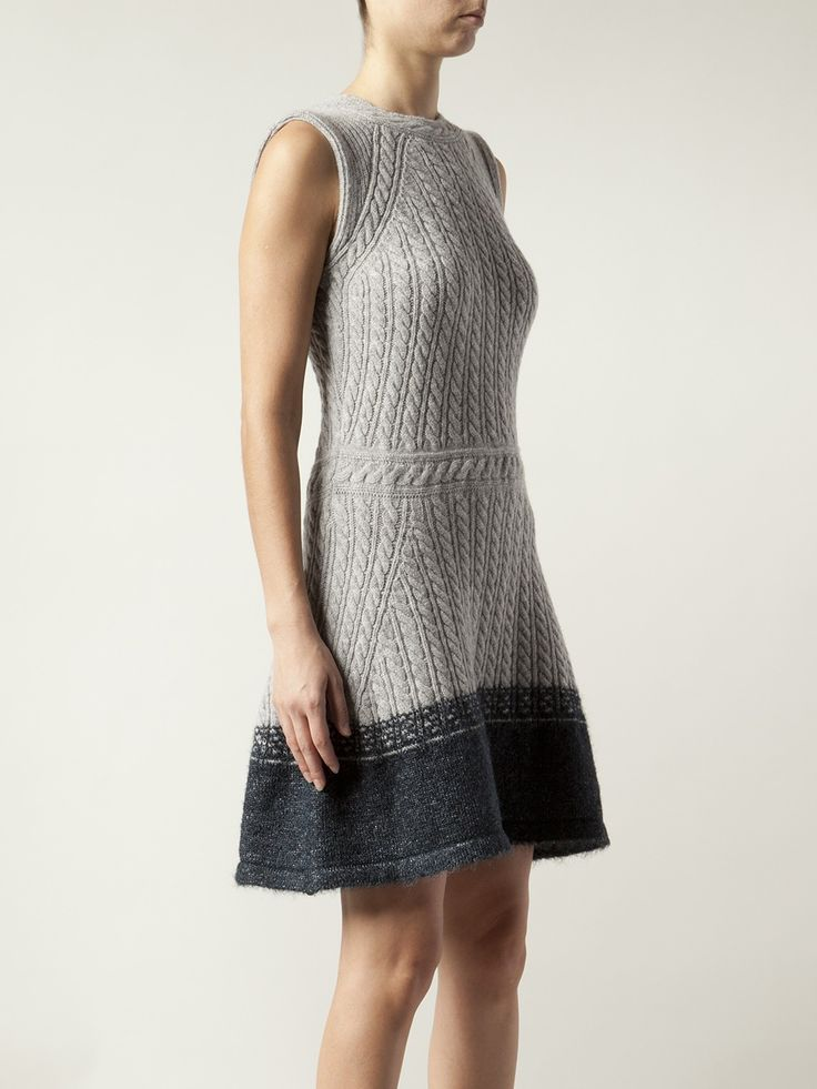 womenu0027s gray sleeveless cable knit dress ZANEFSQ