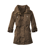womens coat parka KZUBWFT
