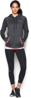 womens hoodies womenu0027s ua storm armour® fleece logo hoodie 3 colors $31.49 NJTPLZD