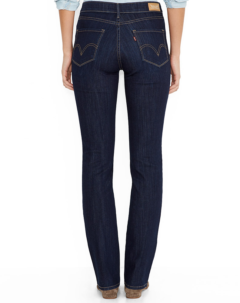 womens jeans leviu0027s ® womenu0027s 515 ™ boot cut jean - blue springs KBASTWV