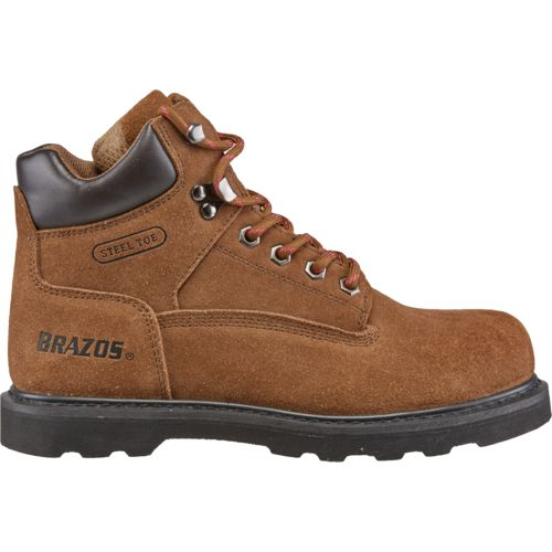 work boots for women brazos™ womenu0027s dane v steel-toe work boots RACATDQ