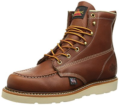 work boots for women thorogood womenu0027s 6-inch mo work boot, brown, ... CQLJREW