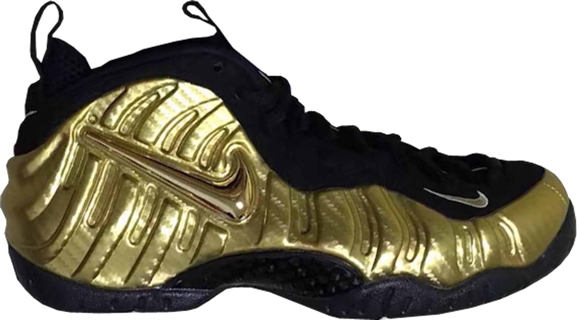 air Nike foamposite air nike foamposite pro metallic gold HWACKQJ