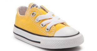 alternate view: toddler converse chuck taylor all star lo sneaker - lemon KOAGGVY