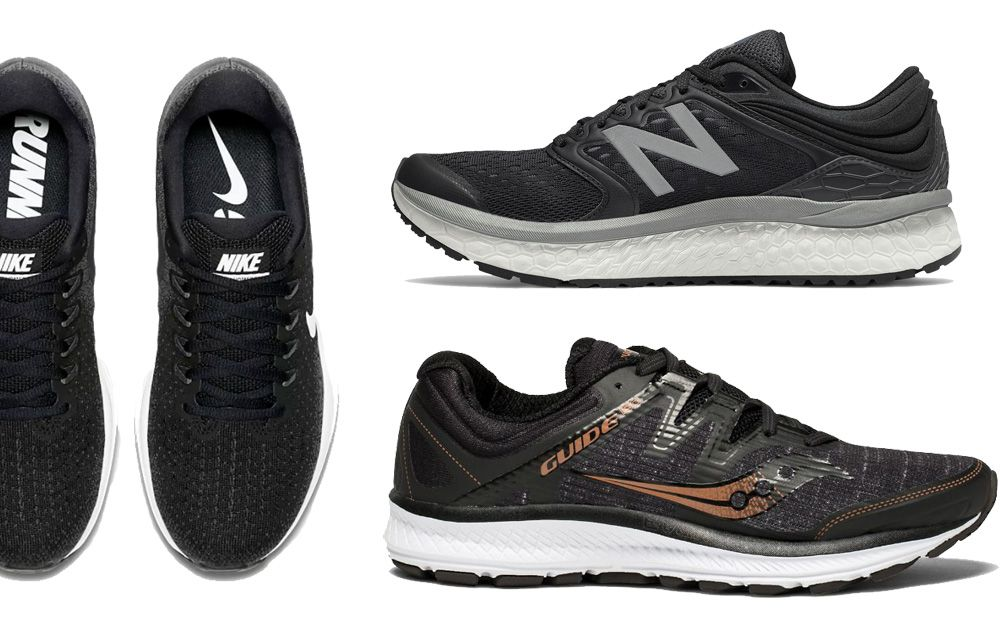Black Running Shoes black running shoes KQNCDRJ