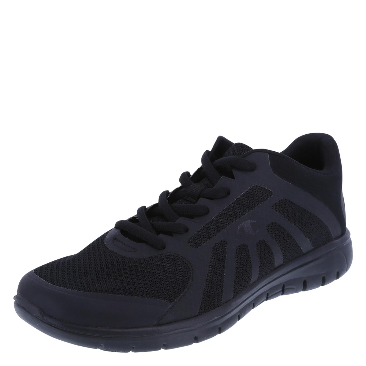 Black Running Shoes menu0027s gusto runner, black ZEUKJVE