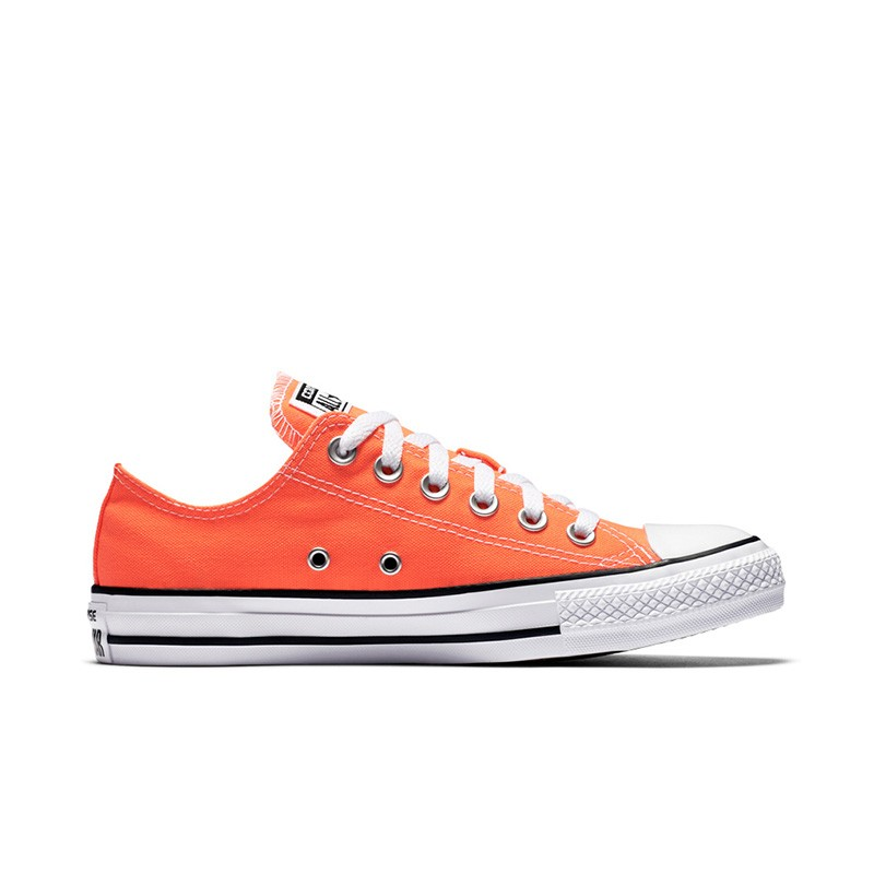 chuck taylor all star seasonal colors low top in hyper orange converse MCNQMLH