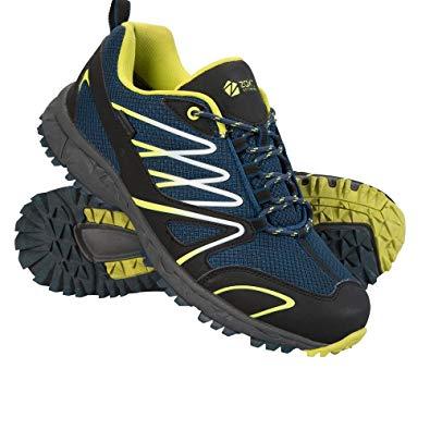 mountain warehouse enhance mens running sneakers - casual summer shoes  petrol blue OEXOIPH
