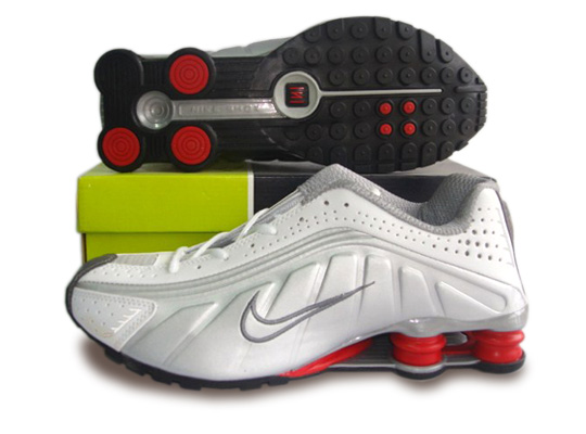 nike shox r4 nike menu0027s shox r4 shoes grey red,nike free pink,nike usa backpack, MSUBGCY