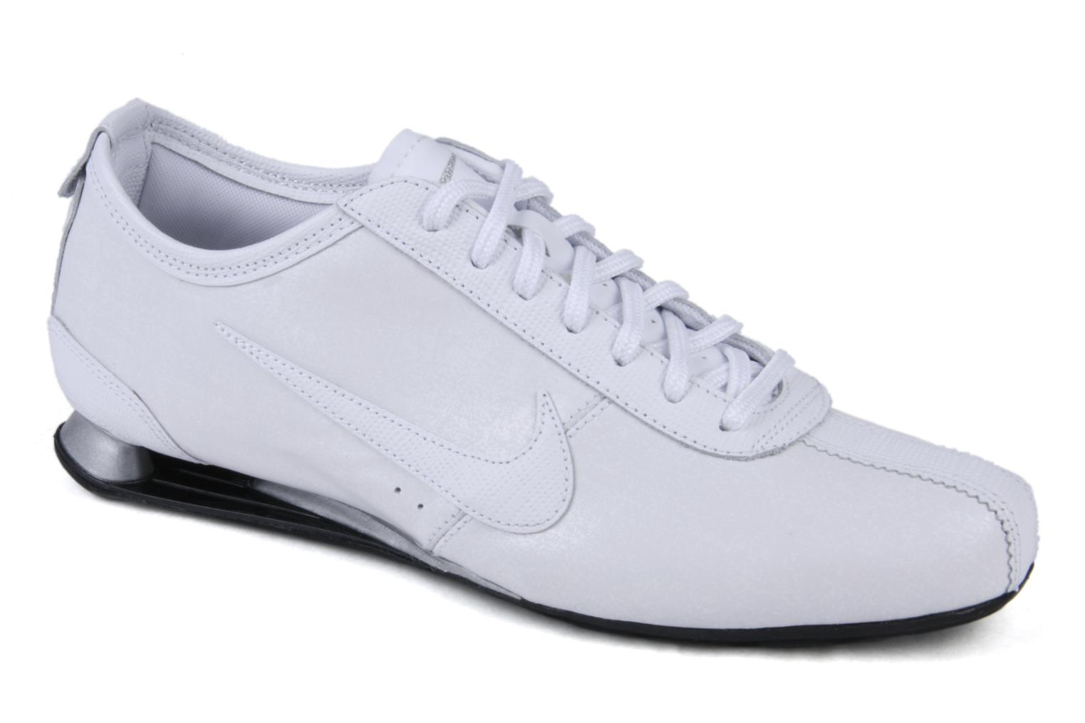 watch 7c67f b652e store nike shox rivalry trainers nike nike shox rivalry white detailed view  pair view fzxeafz 8e6bf