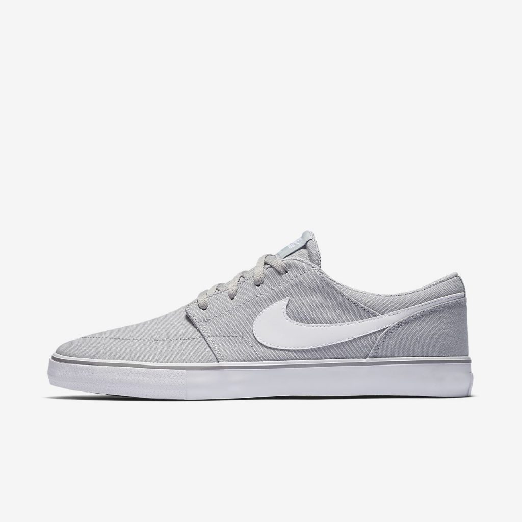 nike skate shoes … nike sb solarsoft portmore ii canvas menu0027s skateboarding shoe QXDSCGR
