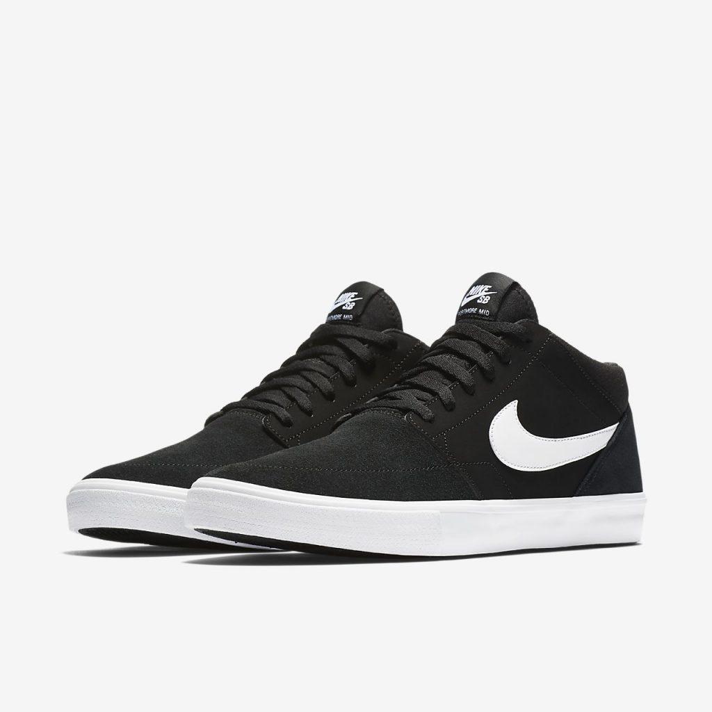 nike skate shoes … nike sb solarsoft portmore ii mid menu0027s skateboarding shoe UKBWOHZ