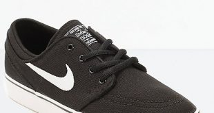nike skate shoes nike sb stefan janoski black canvas kids skate shoes ... IJCQXWS
