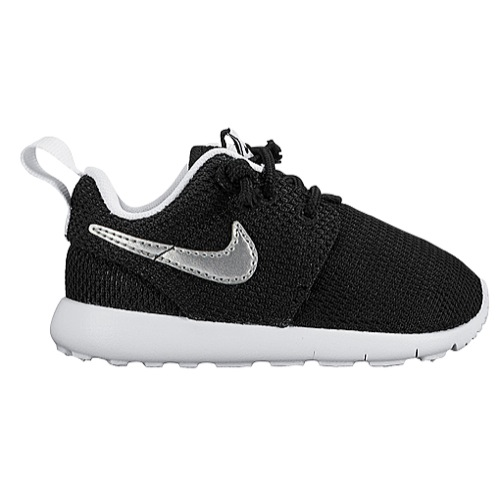 nike toddler shoes nike roshe one - boysu0027 toddler - casual - shoes -  black/white/white/metallic IHOARBB