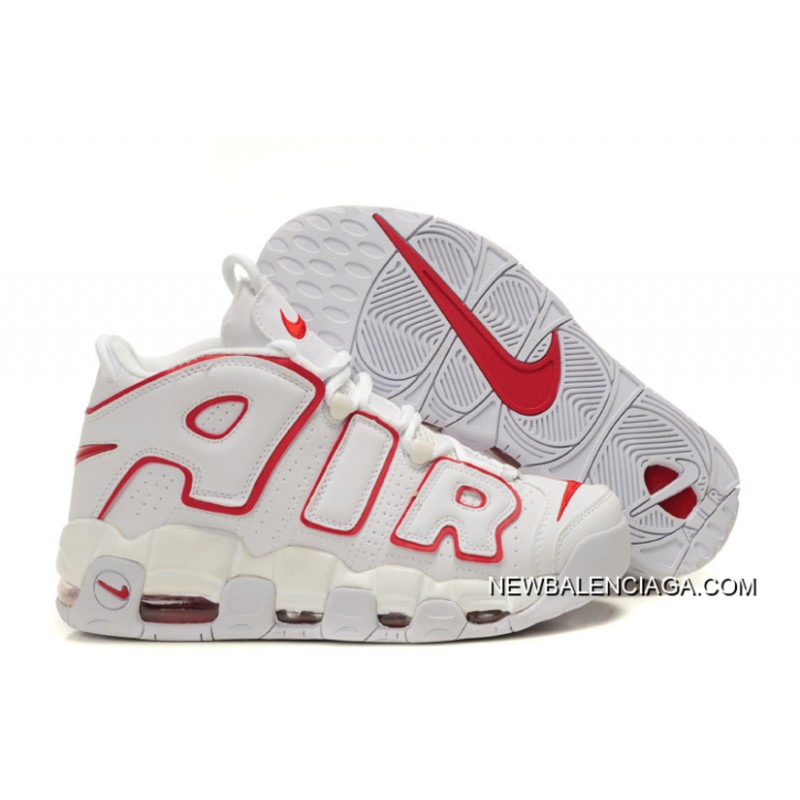 nike uptempo nike air more uptempo white/varsity red new style ... RHMLJUC