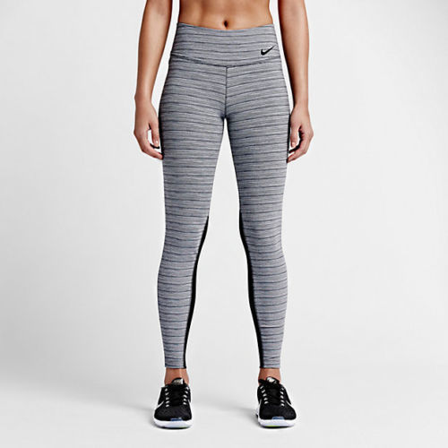 nike yoga pants nike legendary jacquard tight fit womenu0027s training tights size xl  826218798733 | IWMFPJA