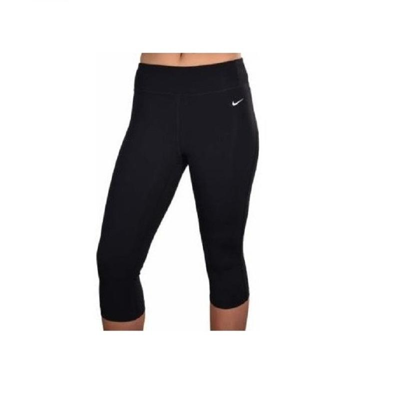 nike yoga pants nike nike 669741-010 womenu0027s tight fit training yoga black capri pants ... QBQBHIT