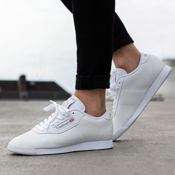 nwt reebok princess white shoes YTLLBPQ