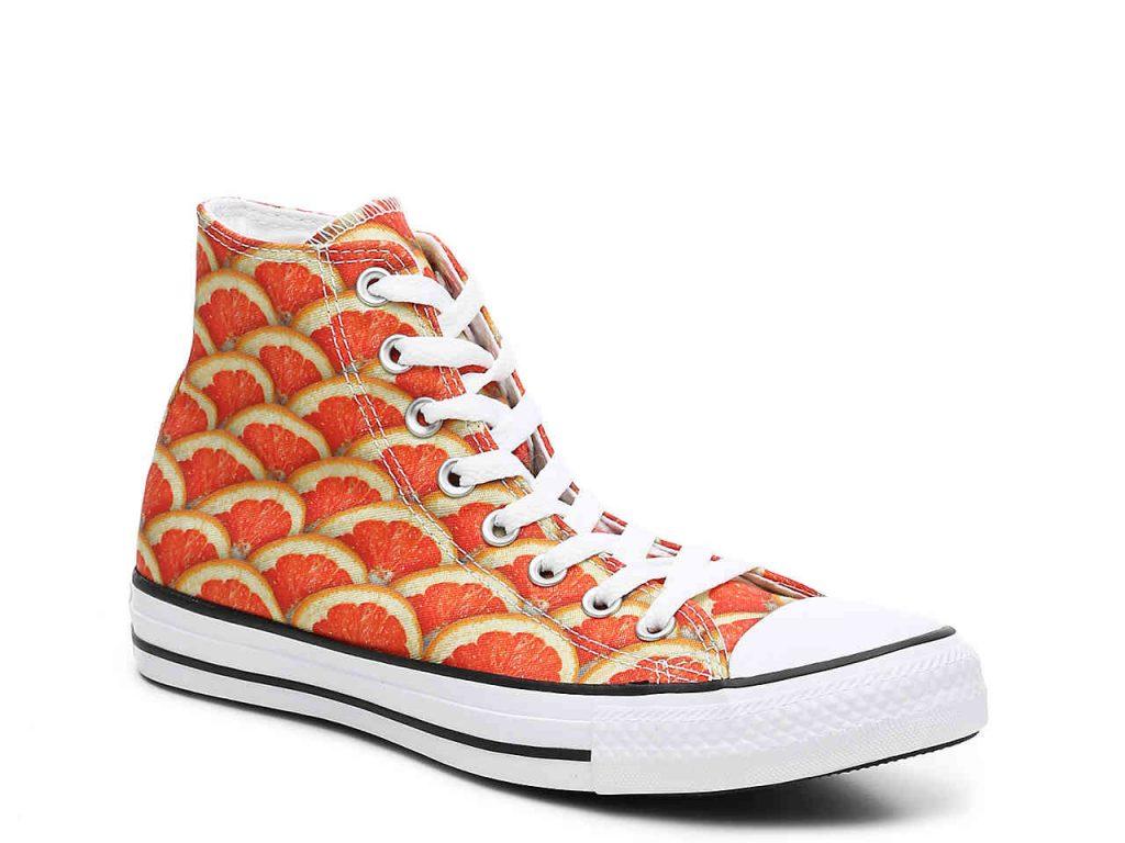 orange converse chuck taylor all star orange high-top sneaker – womenu0027s XHEOSXN
