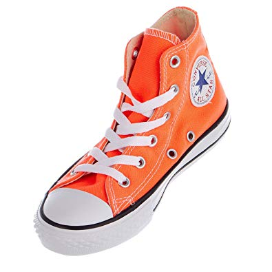 orange converse converse chuck taylor all star hi top hyper orange youth 10.5 MJDGAMP
