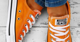 orange converse converse chuck taylor all star orange trainers AEGXFOX