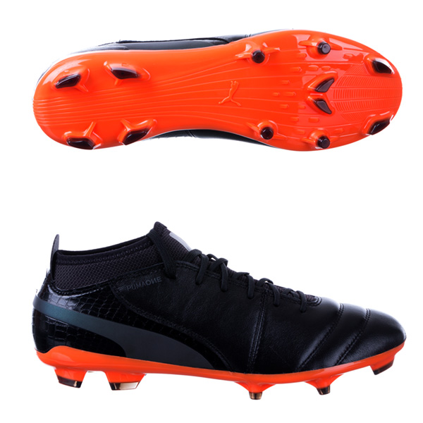 Puma cleats puma one lux 2 fg soccer cleats - black MNSIXAI