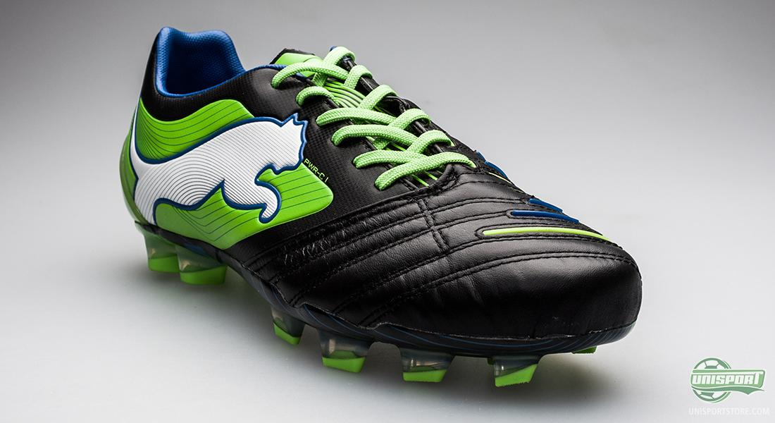 puma powercat 1.12 black/green/white - see the mighty boot here SRAGYJF
