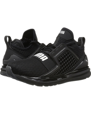 puma running shoes puma - ignite limitless (puma black) womenu0027s running shoes XYABACP