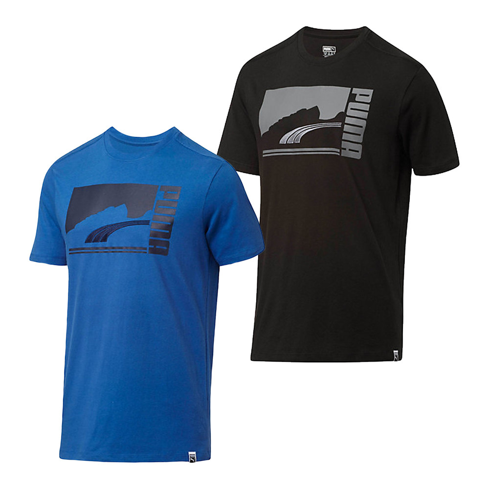Puma t shirts puma mono suede t-shirt - discount menu0027s golf polos and shirts - hurricane RMYJWFS