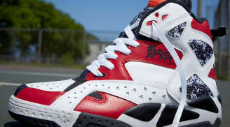 reebok blacktop battleground pump white/black-excellent red XPWSINO