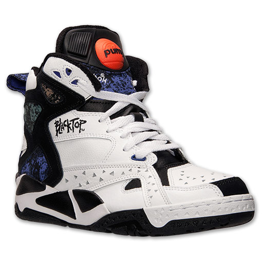 reebok blacktop for those who would run games at the local park, graffiti was a QWRNBBI