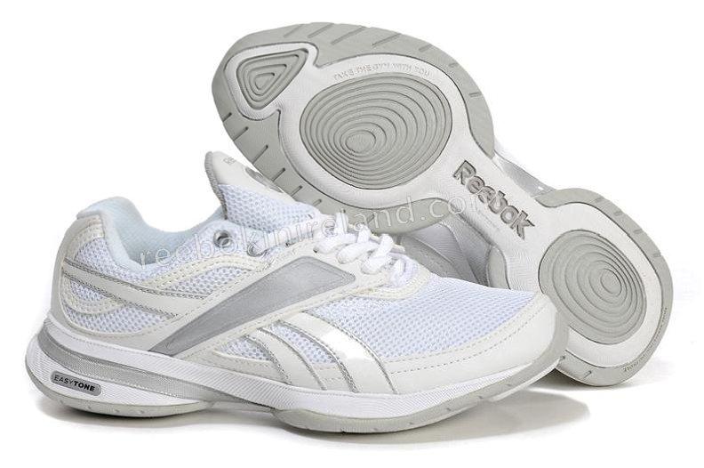 reebok easytone 1010 womens shoes white silver,reebok kettlebell,famous  brand HGEHHXI