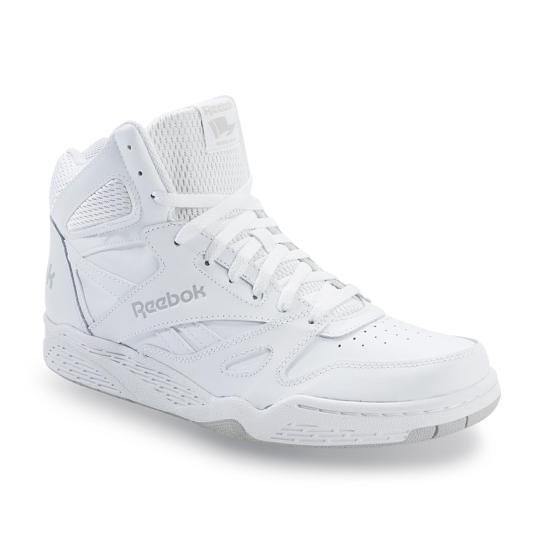 reebok high tops reebok menu0027s royal bb4500 high-top leather basketball shoe - white | shop PIOMSLI