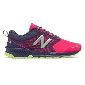 running shoes for women new balance fuelcore nitrel trail, dark cyclone with alpha pink DDVLCVB