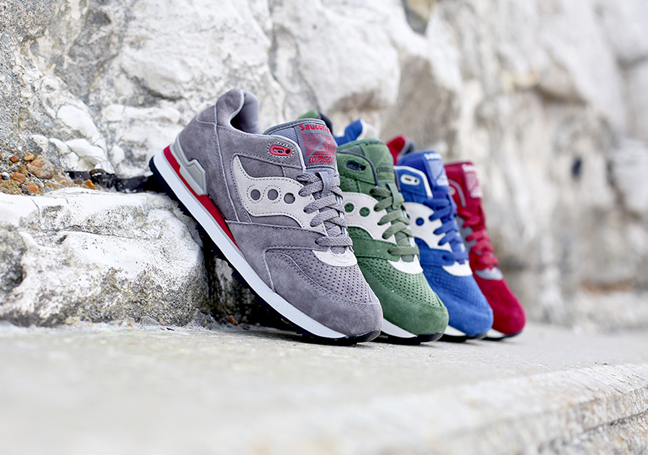 saucony originals brings back the courageous silhouette for the spring OWVYDKI