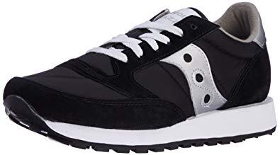 saucony originals menu0027s jazz sneaker,black/silver ... HKRFJHL