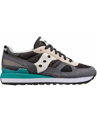 saucony sneakers womenu0027s saucony originals shadow original sneaker - black/baltic running  shoes VTQHMRE