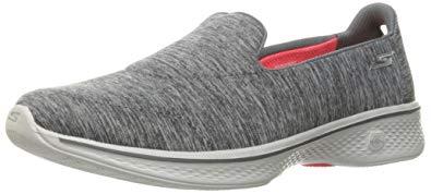skechers go walk shoes skechers performance womenu0027s go walk 4 achiever walking shoe,gray,5 ... PSWURIF