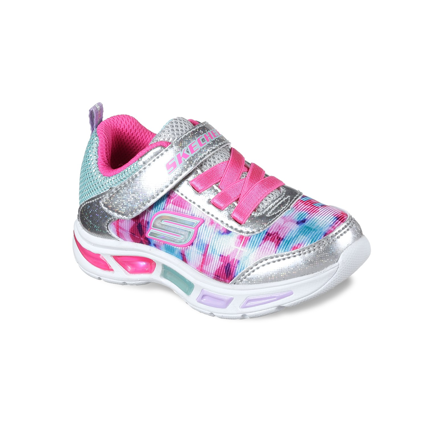 skechers kids skechers s lights litebeams dance n glow toddler girlsu0027 light up sneakers EXBDQCL