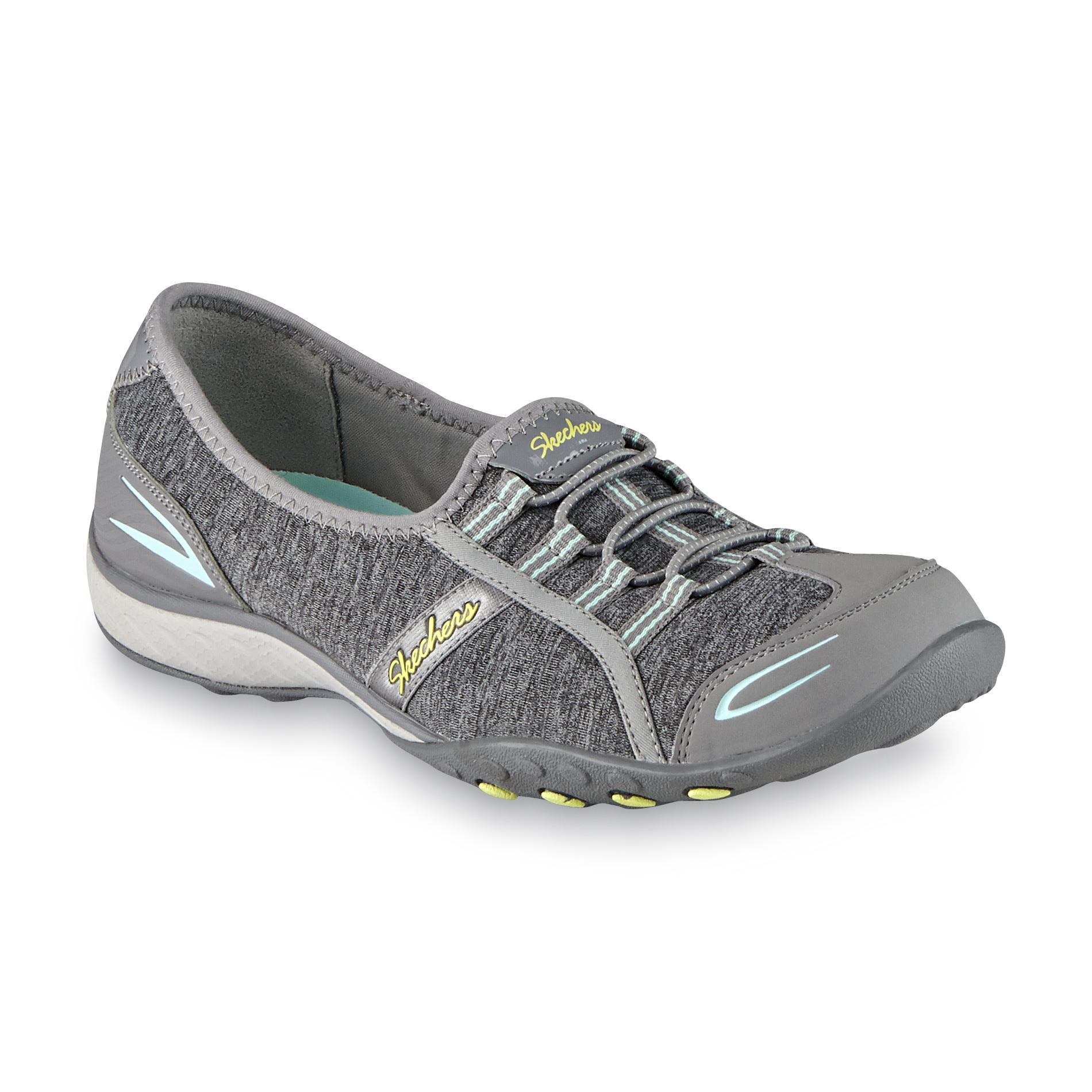 skechers walking shoes skechers womenu0027s goodlife gray walking shoe QFXZGLQ
