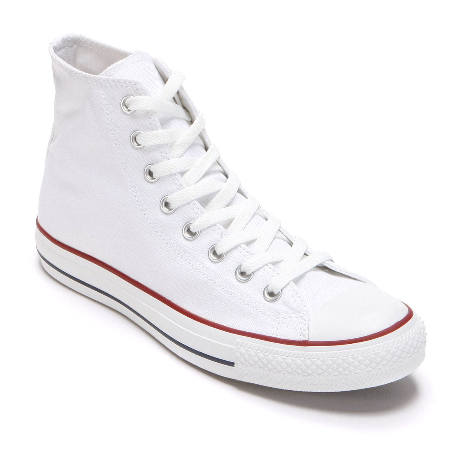 White converse adult converse all star chuck taylor high-top sneakers DNUMDXN