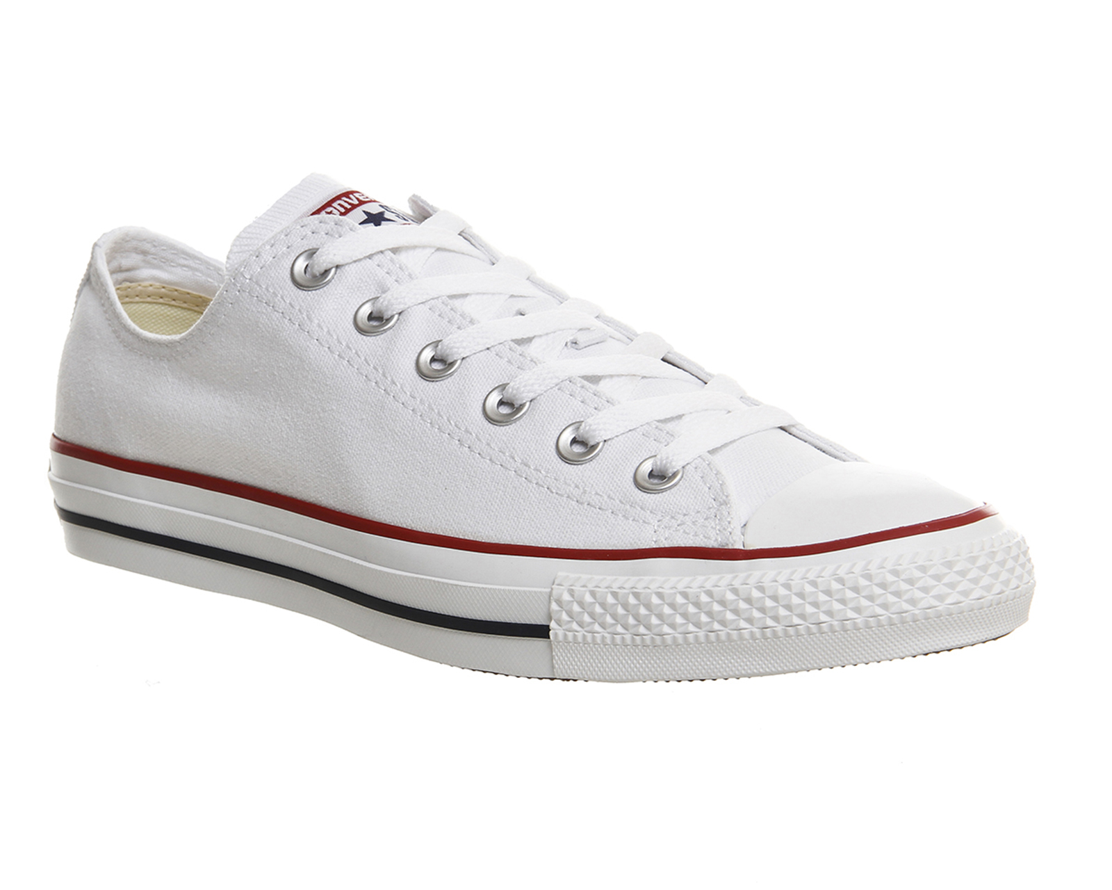 White converse converse all star low white canvas - unisex sports CXSTEJI