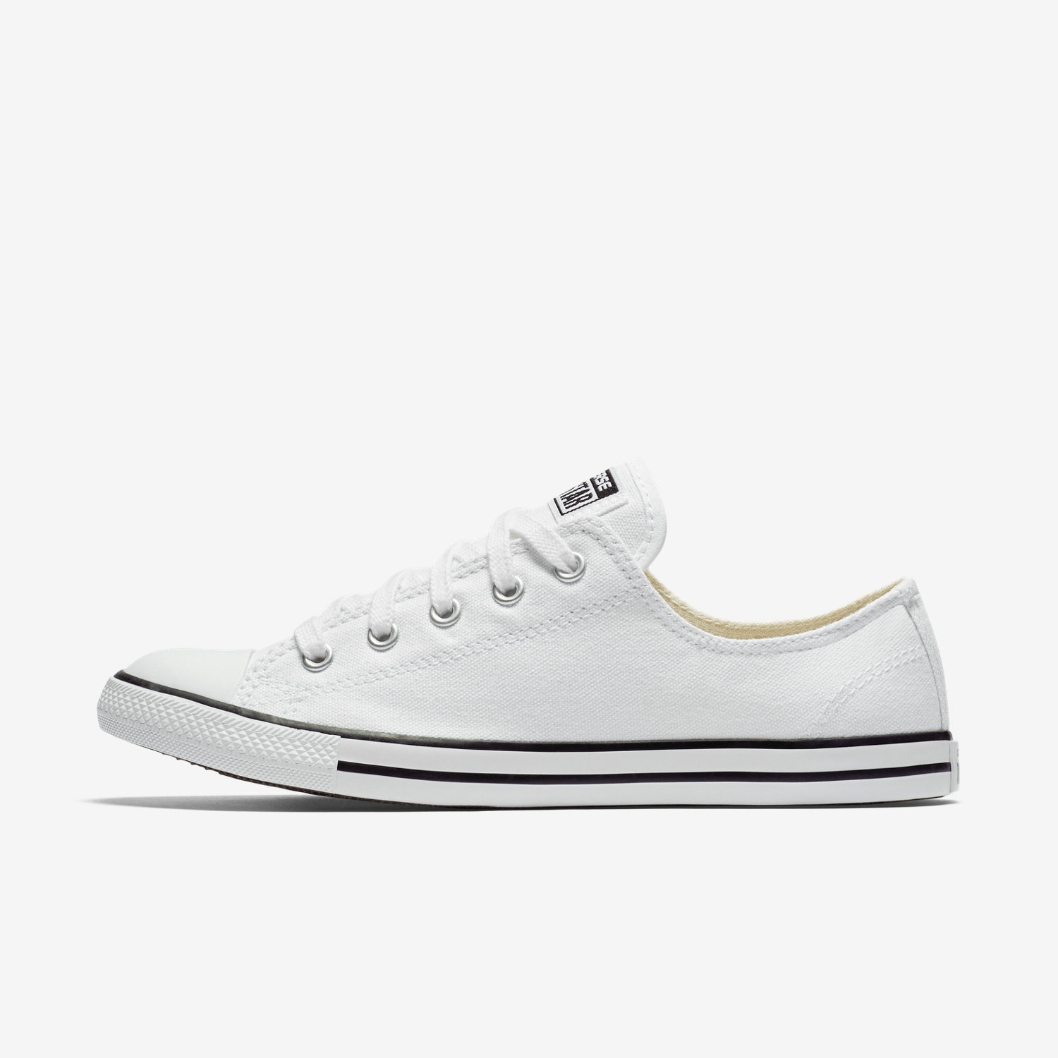 White converse converse chuck taylor all star dainty low top womenu0027s shoe. nike.com BQDKNSE