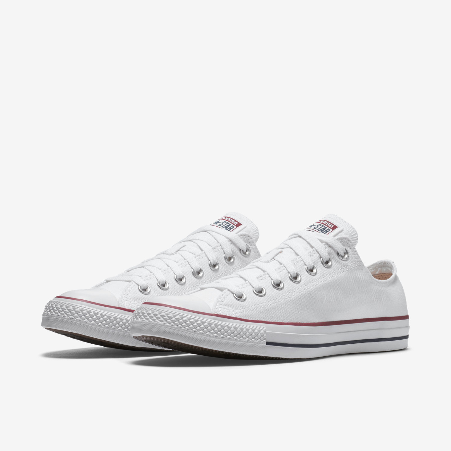 White converse converse chuck taylor all star low top unisex shoe. nike.com MSQHUJE
