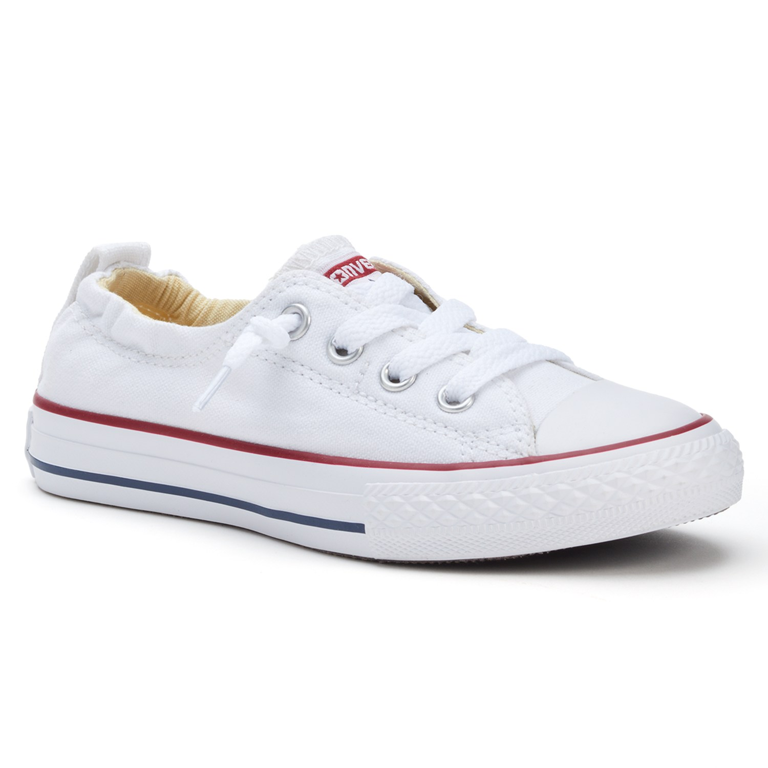 White converse kidu0027s converse all star shoreline slip-on sneakers. black white KDZBTCB