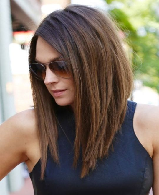 Personalize your hairstyles by doing some  medium haircuts