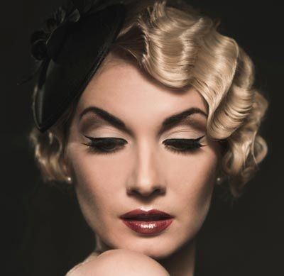 1920s Hairstyle Tutorial | finger waves | Hair styles, Hair, 1920s hair