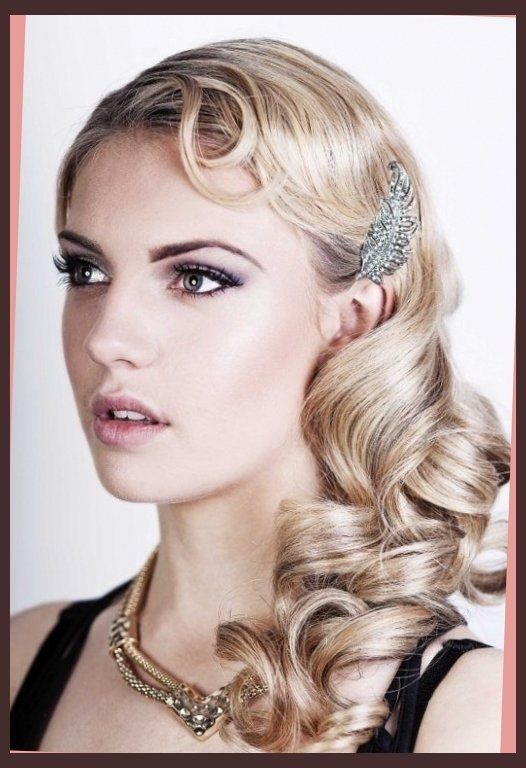 The classy and sassy 1920's hairstyle