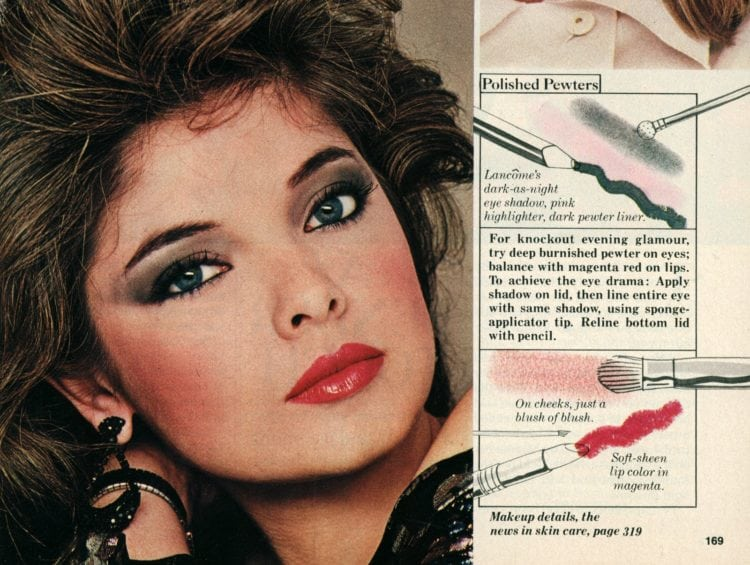How to get hot eighties hair & makeup (1982) - Click Americana