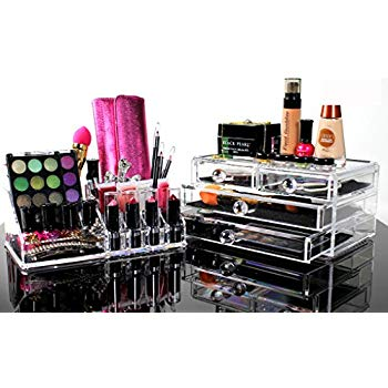 Amazon.com: Best Acrylic Makeup Organizer For BEAUTIFUL Cosmetic